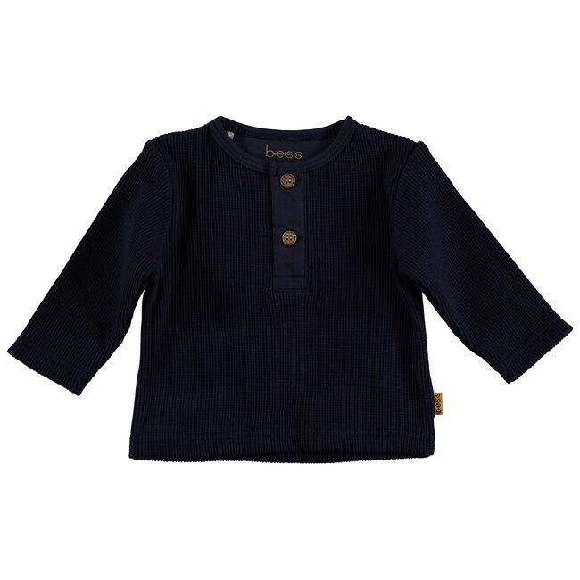 Bess baby jongens t-shirt - Dark Blue