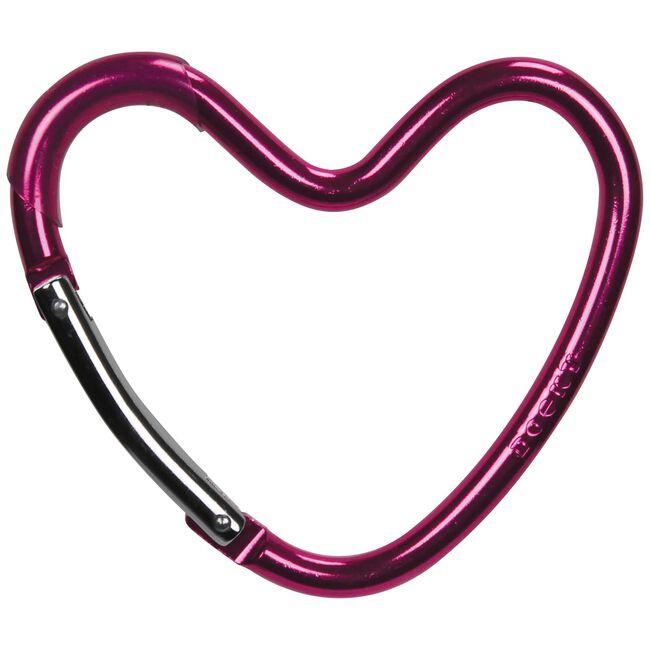 Dooky buggyhaak hart - Pink