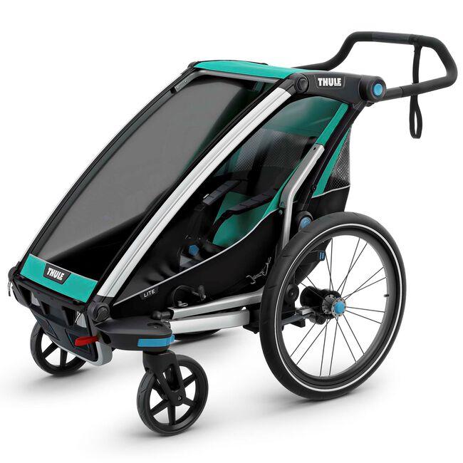 Thule fietskar Chariot Lite 1 - Blue Grass