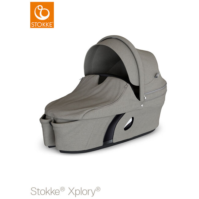 Stokke Xplory V6 reiswieg - Brushed Grey