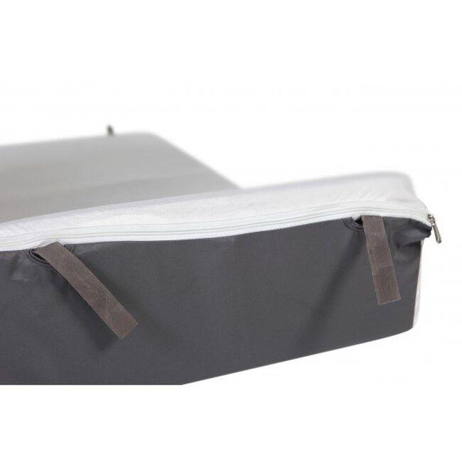 Prénatal campingbed matras + matrashoes / hoeslaken voor veilig gebruik - Blue