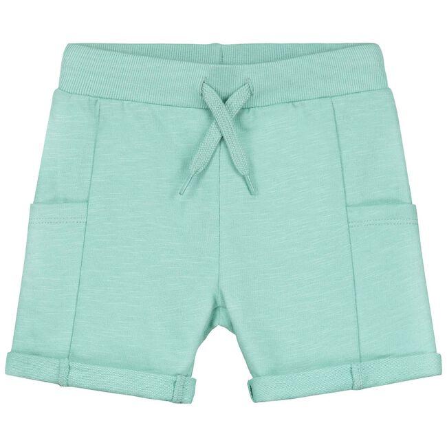 Prenatal peuter jongens short - Light Mint Green
