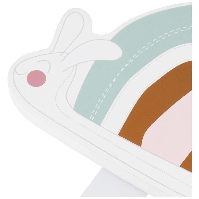 Prenatal haakje regenboog slak - Pink