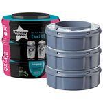 Tommee Tippee Sangenic Twist&Click navulverpakking 3-pack -