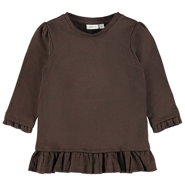 Name it meisjes sweater - Brown