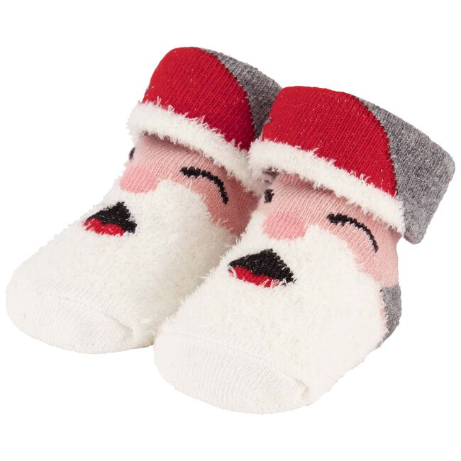 Prénatal baby unisex kerst sokken - Off-White