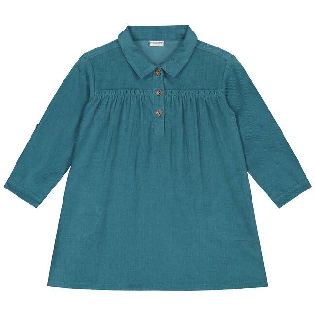 Prénatal baby meisjes jurk - Dark Turquoise Blue