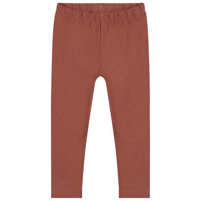 Prénatal peuter meisjes legging - Red Brown