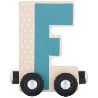 Prénatal houten namentrein letter F -