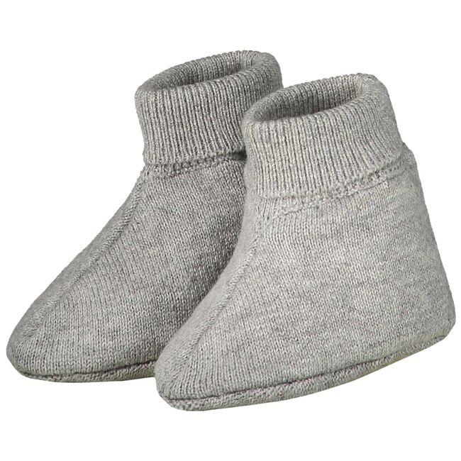Prénatal newborn unisex slofjes - Cloud Grey Melange