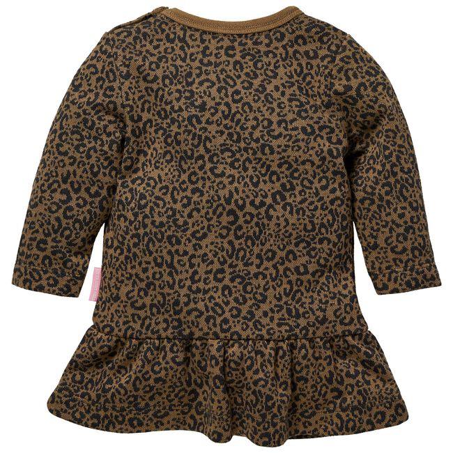 Quapi baby meisjes jurk - Light Taupe Brown