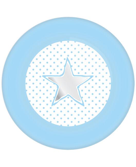 Haza bordjes babyboy 18 cm - Baby Blue