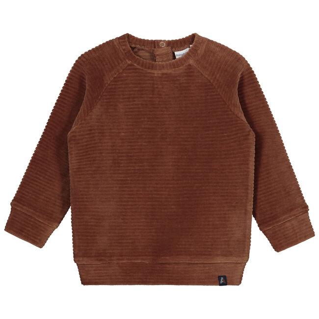 Prénatal peuter jongens sweater - Dark Sienna