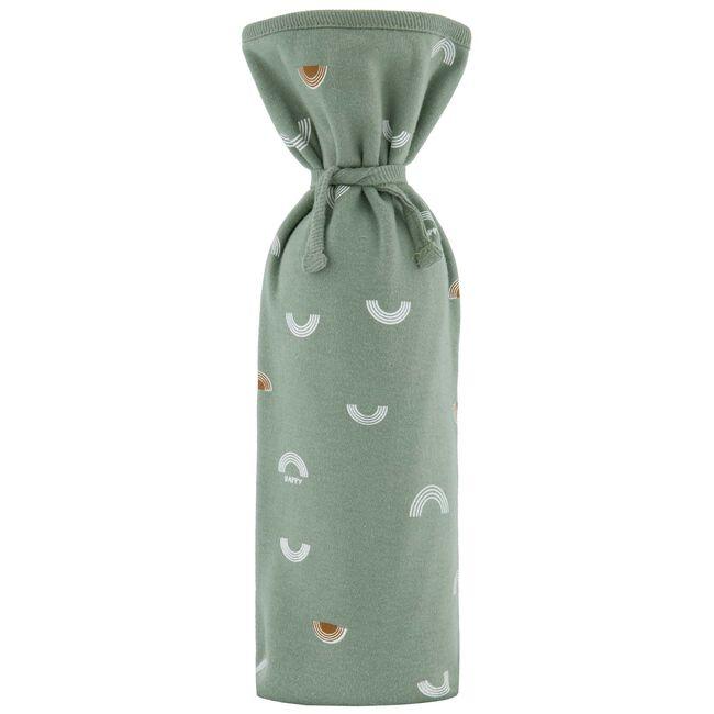 Prenatal kruikenzak met regenboogprint - Midgreen