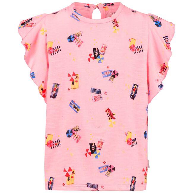 Noppies peuter meisjes t-shirt - Neon Pink