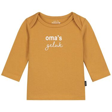 Prénatal newborn shirt oma's geluk -