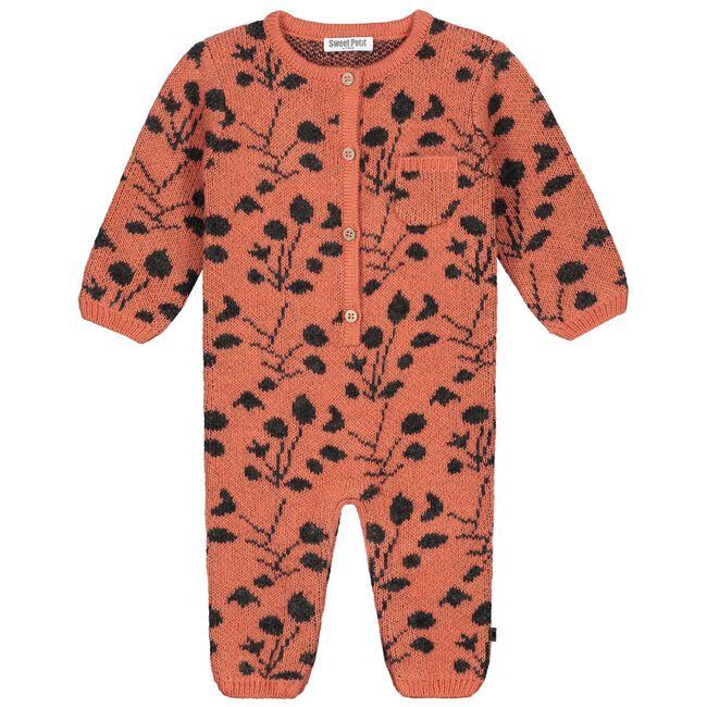 Sweet Petit baby meisjes 1-delig pak - Deep Orange