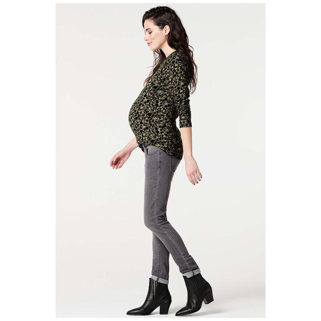 Supermom zwangerschapsshirt - Khakigreen