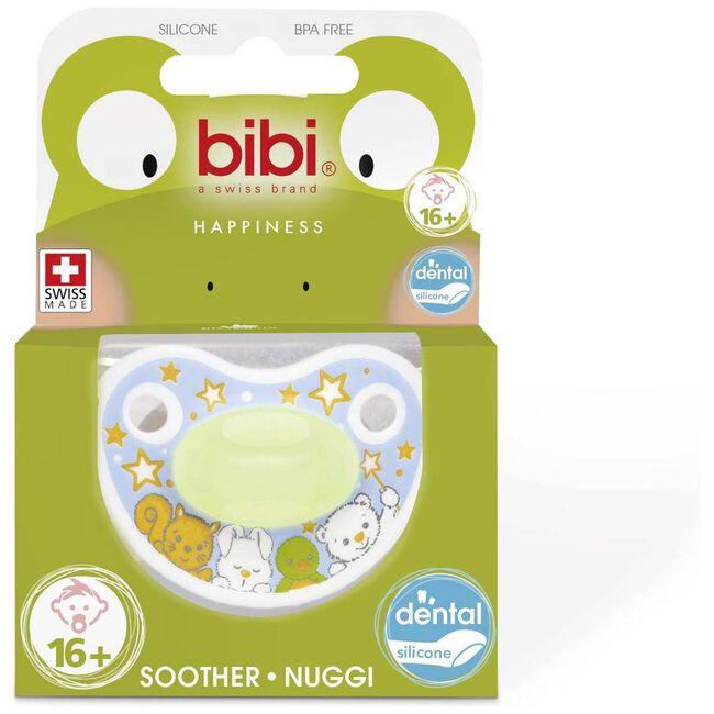 Bibi fopspeen Happiness Glow in the dark - 16 maanden -