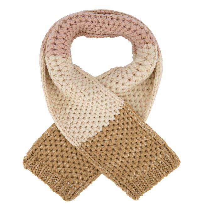 Prénatal peuter meisjes sjaal - Beigebrown