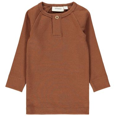Lil' Atelier shirt - Red Brown
