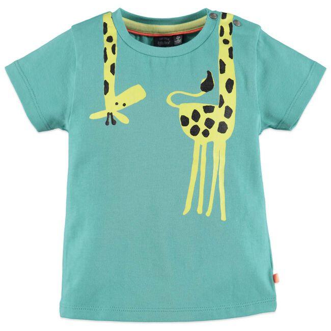 Babyface jongens t-shirt - Turqoise Blue