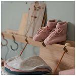 Prenatal newborn meisjes slofjes - Pink Shade
