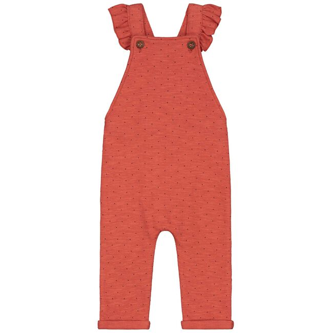 Prénatal baby meisjes jumpsuit - Brown Red