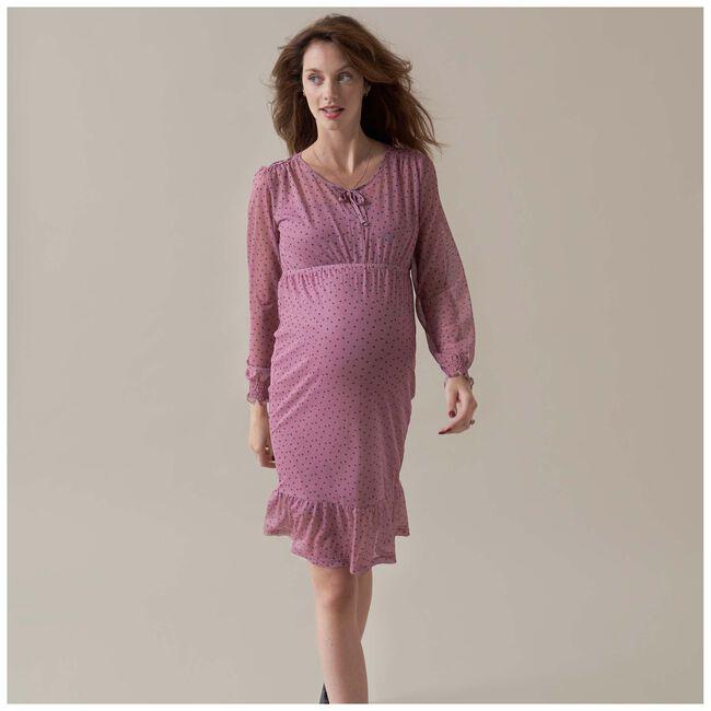 Prénatal zwangerschapsjurk - Pinkshade