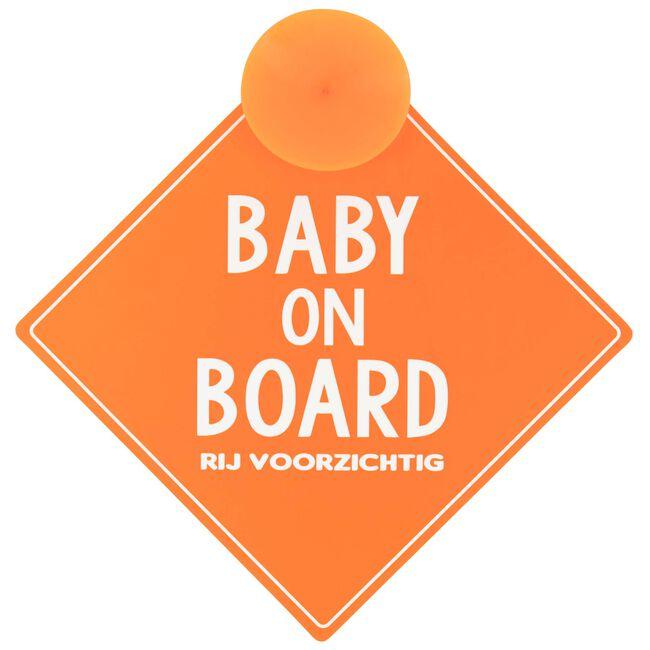 Prénatal baby on board veiligheidsbordje -