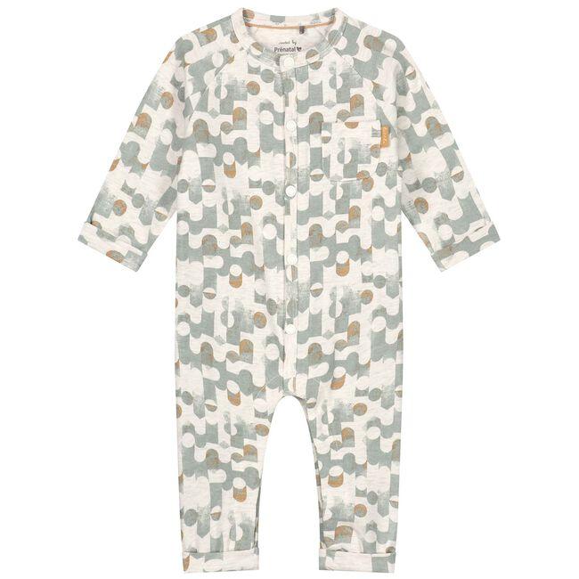 Prenatal newborn jongens 1-delig pakje - Dark Mint Green