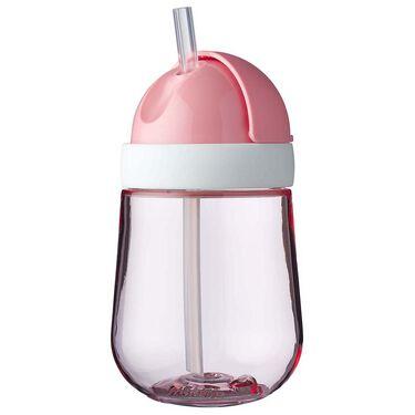 Mepal rietjesbeker Mio 300ml - Dark Pink