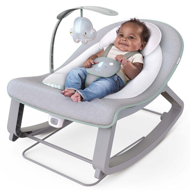 Ingenuity Keep Cosy 3-in-1 Grow with Me Bounce & Rock Seat -