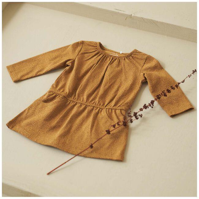 Prénatal peuter meisjes jurk - Dark Sienna