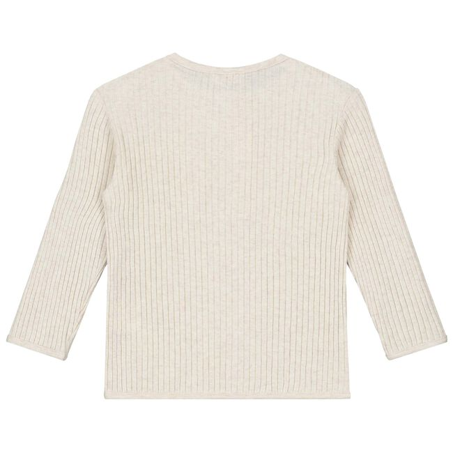 Prénatal peuter jongens shirt - Light Brown Melange