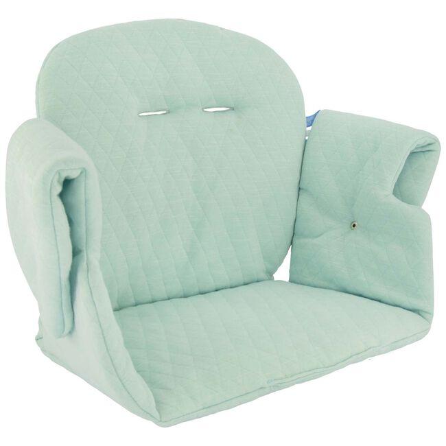 Prénatal stoelverkleiner doorgestikt - Lightgreen