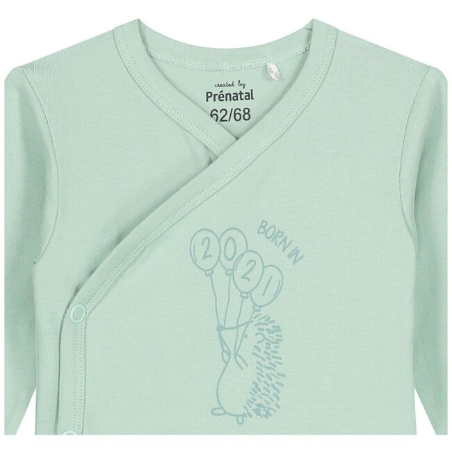 Prénatal overslag romper - Light Mint Green
