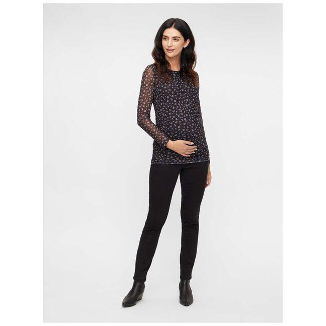 Mamalicious zwangerschapsshirt - Black
