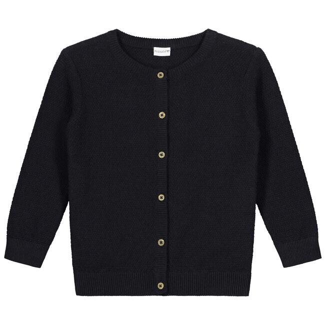 Prénatal peuter meisjes vest - Black