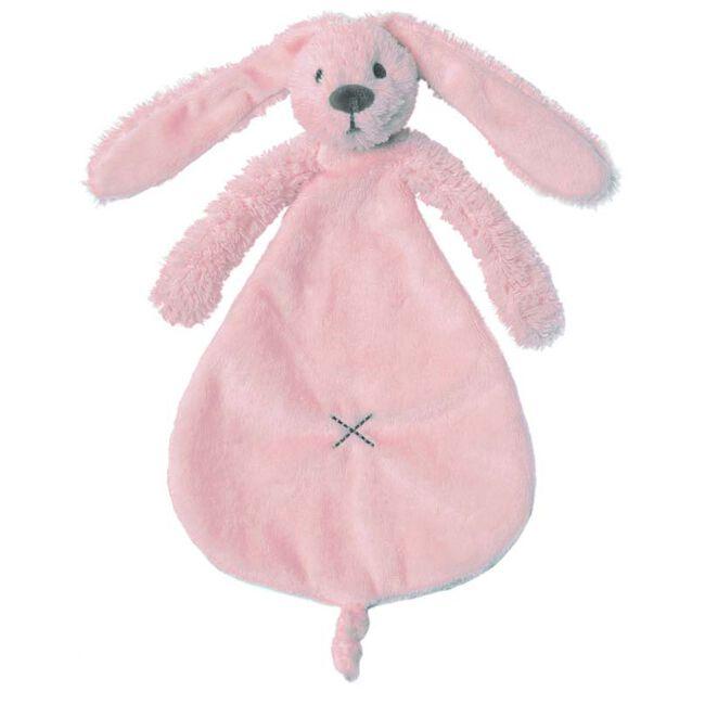 Happy Horse Rabbit Richie Pink knuffeldoekje - Soft Pink