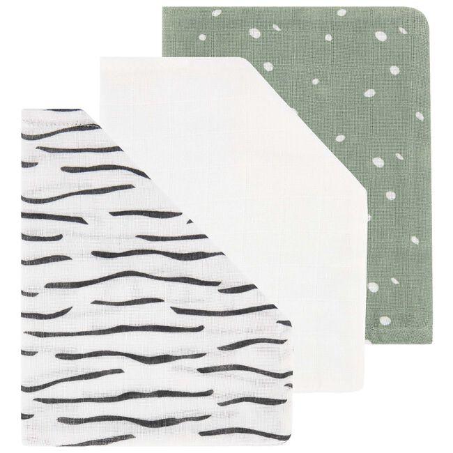 Prénatal hydrofiele washandjes zebra -