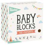 Milestone baby blokken age+ moment blocks - Multi