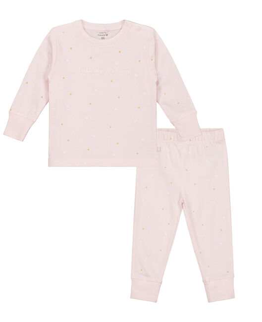 Prénatal meisjes pyjama - Light Rosered
