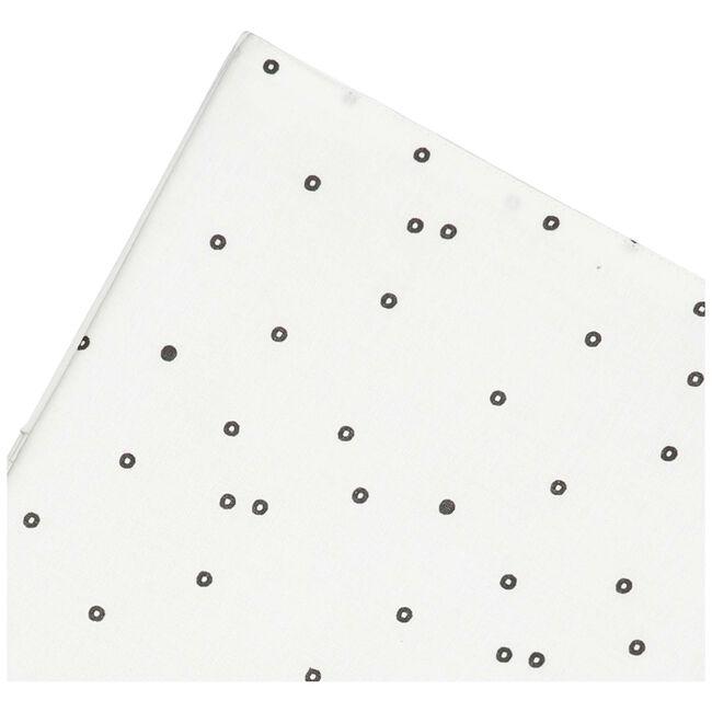 Prénatal wieglaken zwarte dot -