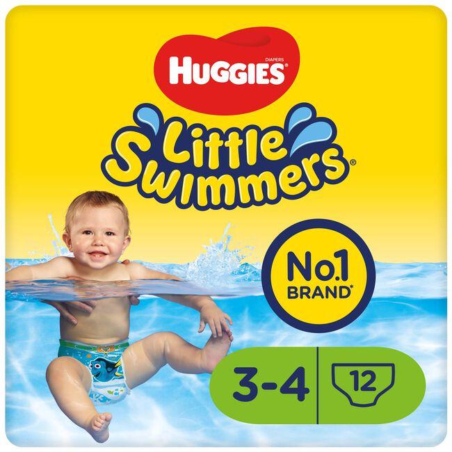 Huggies Little swimmers zwemluiers 3/4 7-15kg - Off-White