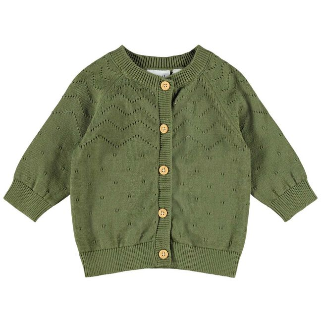 Name it meisjes vest - Darkgreen