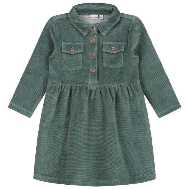 Prénatal baby meisjes jurk - Light  Bottle Green