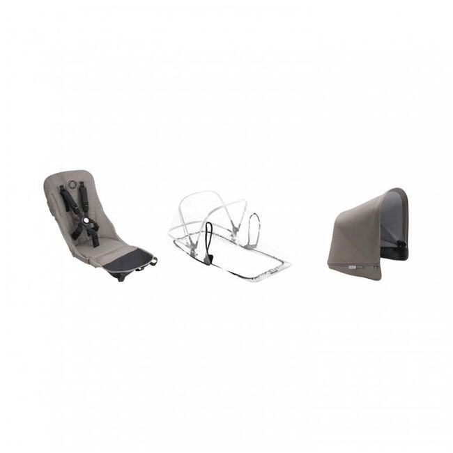 Bugaboo Donkey2 Mineral duo bekleding - Taupebrown