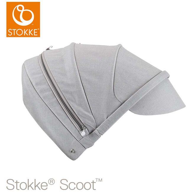 Stokke Scoot zonnekap - Grey Melange
