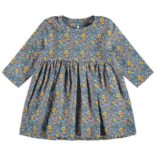 Name it meisjes jurk - Blue Shade
